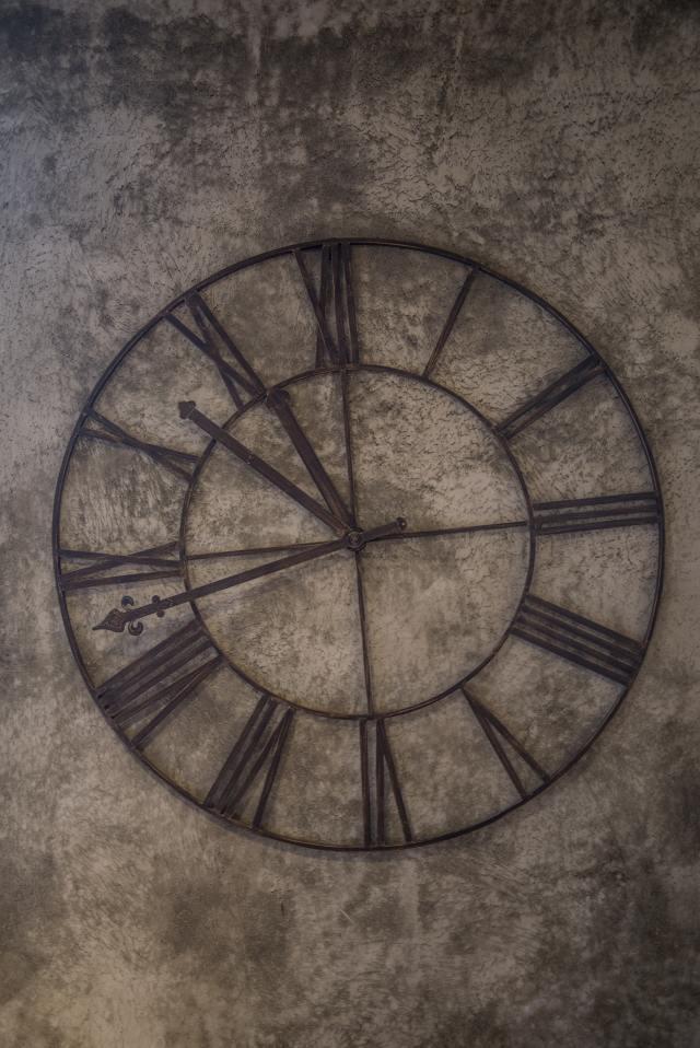 brown-analog-wall-clock-at-11-48-71154
